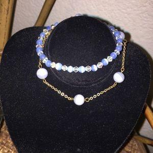 🎀5/$25🎀 MACY'S Set of 2 Light Purple Bracelets